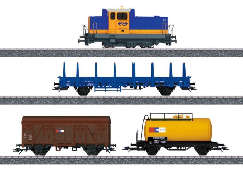 Märklin 29023 Startset Nederländskt Diesellok Class 700, Räls samt Mobile Station Nyhet 2020 Förboka ditt exemplar