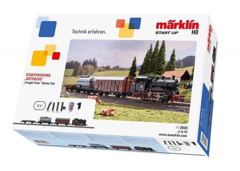 "Märklin 29323 Nybörjar Startset ""Freight Train"" DB class 89.0"