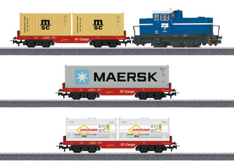 Märklin 29453 Startset med Diesellok DHG 700 (DB AG)