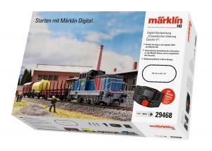 Märklin 29468 Svenskt Startset SJ V5 lok med ljud Mobile Station 2