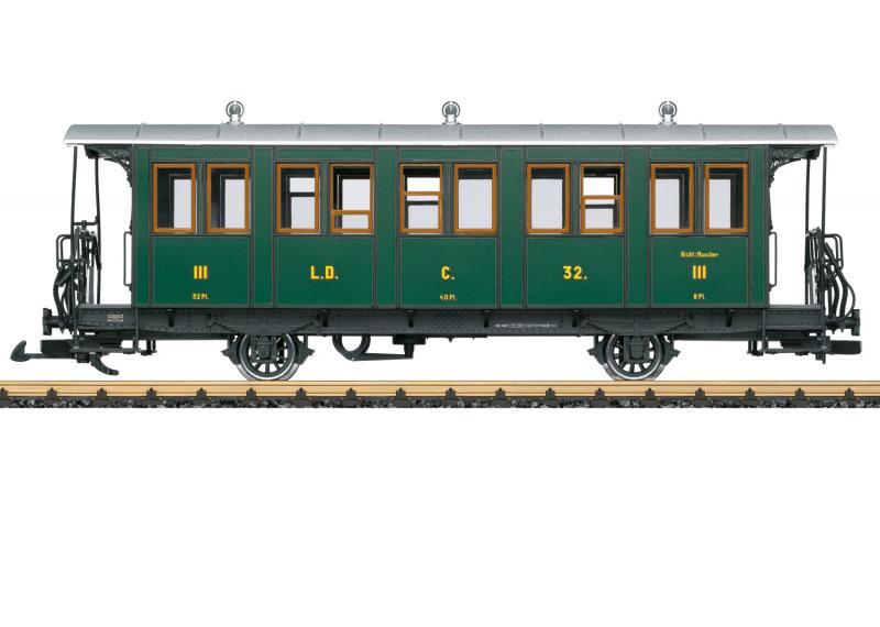 LGB 30341 Personvagn type RhB 3 klass Nyhet 2021 Förboka ditt exemplar