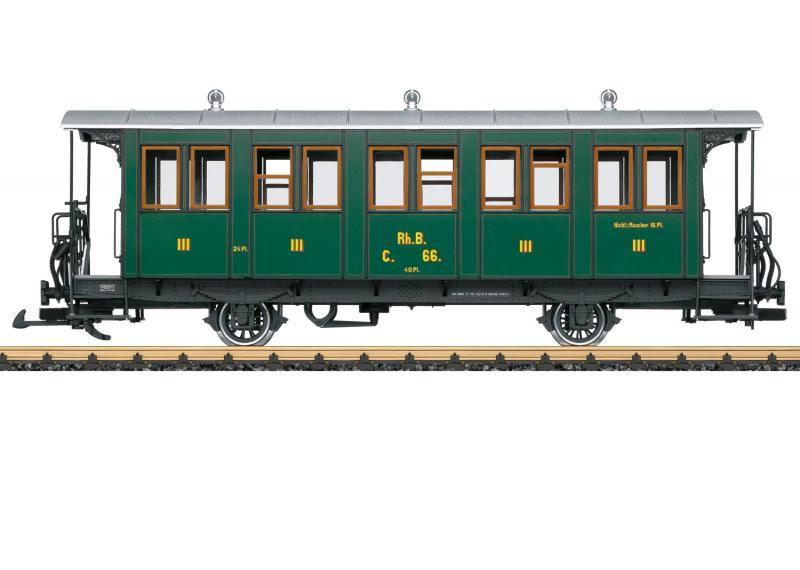 LGB 30342 Personvagn type RhB 3 klass Nyhet 2021 Förboka ditt exemplar