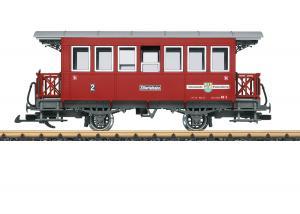 LGB 33210 Personvagn Ziller Valley Railroad Type AB 3 Höstnyhet 2021 Förboka ditt exemplar