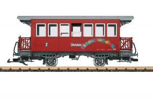 LGB 33211 Personvagn Ziller Valley Railroad Type B 20 Höstnyhet 2021 Förboka ditt exemplar
