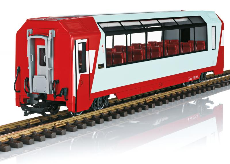 "LGB 33666 Personvagn RhB Panorama Car, 1st Class ""Glacier Express"" Nyhet 2020"