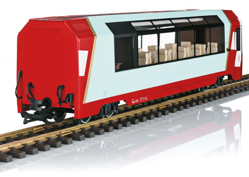 """LGB 33670 Personvagn RhB Excellence Class Panorama Car """"Glacier Express"""" Nyhet 2020"""