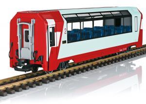 "LGB 33671 Personvagn RhB Panorama Car, 2nd Class ""Glacier Express"" Nyhet 2020"