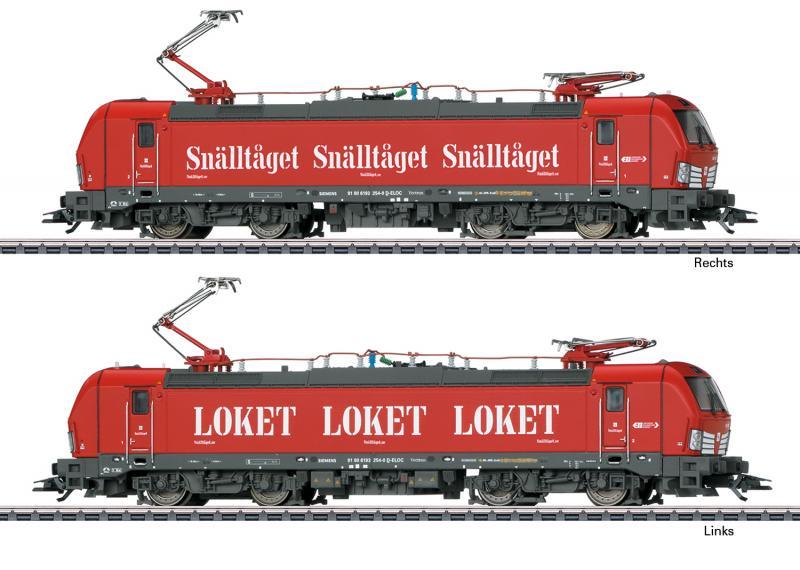 """Märklin 36184 Ellok Class 193 """"snälltåget"""""""