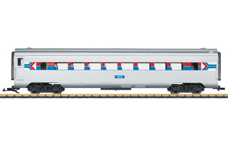 """LGB 36601 Amerikansk Personvagn Amtrak 4813 """"50 Years of Amtrak"""" Nyhet 2021 Förboka ditt exemplar"""