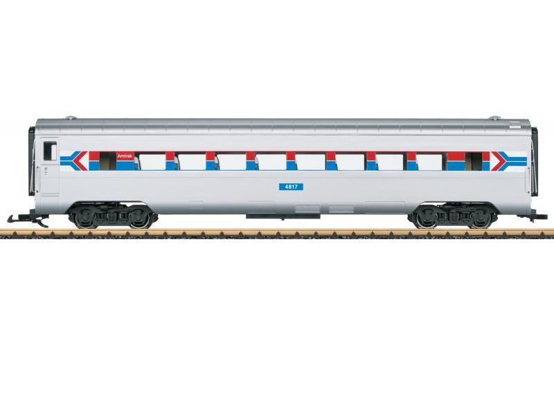 """LGB 36602 Amerikansk Personvagn Amtrak 4817 """"50 Years of Amtrak"""" Nyhet 2021 Förboka ditt exemplar"""
