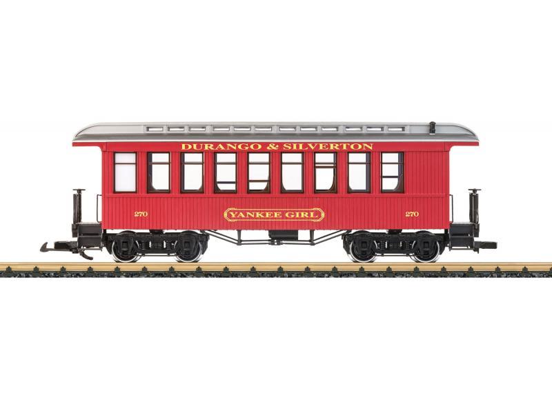 "LGB 36808 Personvagn Durango & Silverton Railroad old-timer ""Yankee Girl"""