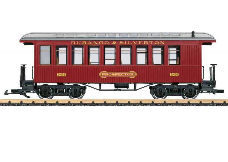 """LGB 36820 Amerikansk Personvagn """" Durango & Silverton Railroad """" Nyhet 2021 Förboka ditt exemplar"""