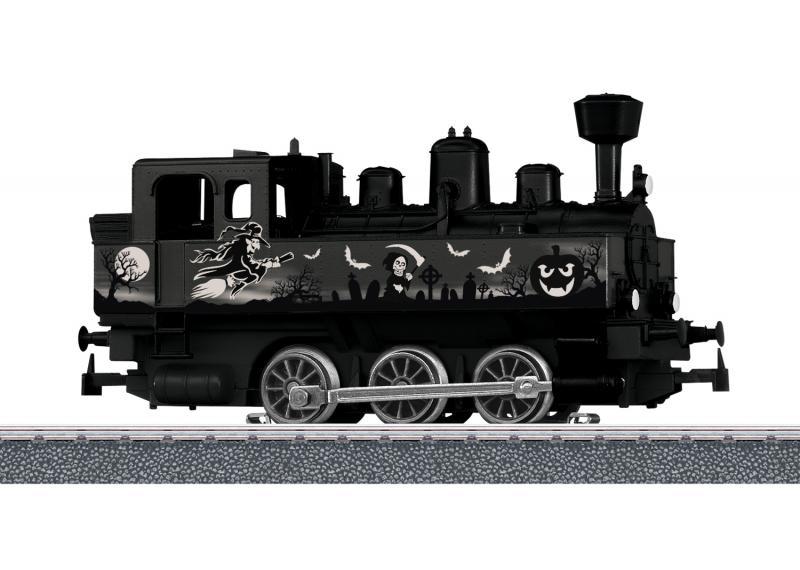Märklin 36872 Ånglok - Halloween Glow in the Dark Steam Locomotive Nyhet 2020