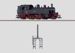 37133 Ånglok BR 75, med stationär skorsten