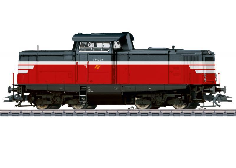 Märklin 37174 Italienskt Diesellok (SerFer) class V 142 MFC DCC Ljud Nyhet 2021 Förboka ditt exemplar