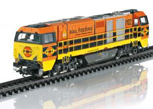 Märklin 37298 Diesellok Class G 2000 BB Vossloh Rotterdam Rail Feeding Sommarnyhet 2021 Förboka ditt exemplar