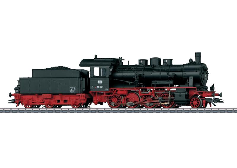 Märklin 37563 Ånglok BR 56.2-8, DB Insidermodell 2012
