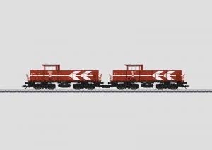 37630 Diesellok DE 1002 2 st HGK dubbelpack mfx ljud