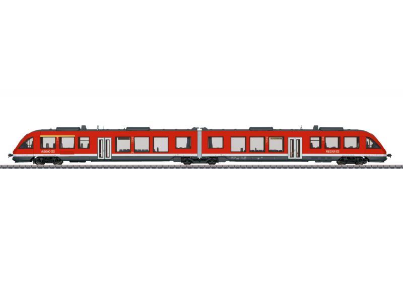 Märklin 37716 Diesel motorvagnståg DB.AG Class 648.2 Nyhet 2020