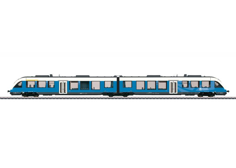 Märklin 37717 Diesel motorvagnståg Bentheim Railroad, Inc. (BE) class 648 (LINT 41) Nyhet 2020