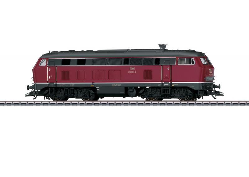 Märklin 37765 Tyskt Diesellok DB Class 218 Nyhet 2020
