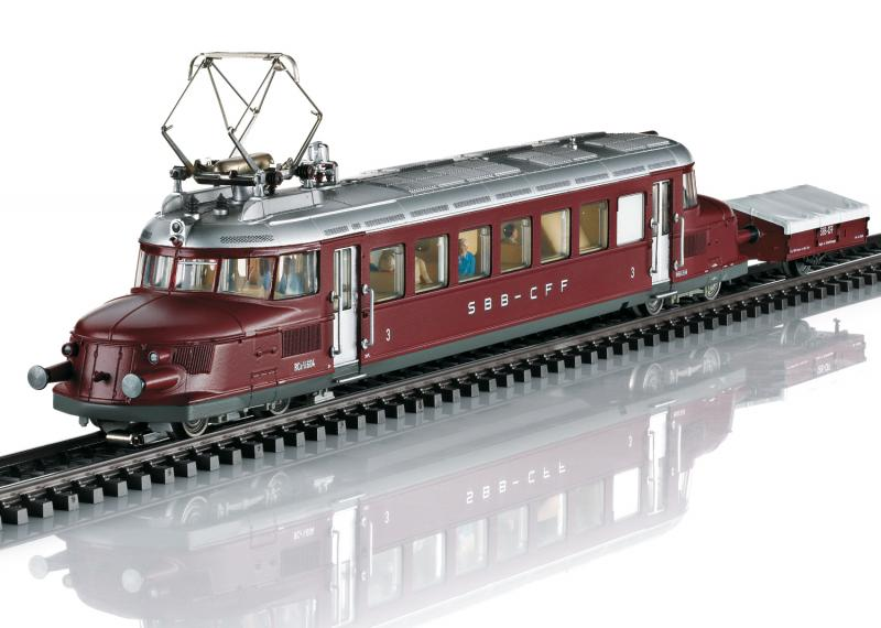 Märklin 37869 Ellok Röda Pilen Swiss Federal Railways (SBB) class RCe 2/4