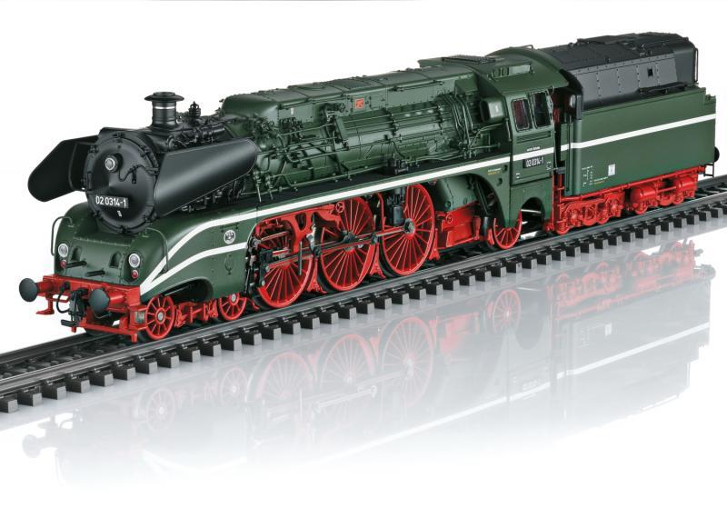"""Märklin 39027 Ånglok Class 02 """" Schorsch """" Överraskningslok / Surprise 2021 Höstnyhet 2021 Förboka ditt exemplar"""