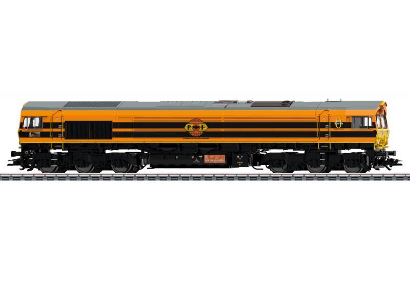 Märklin 39061 Diesellok Type JT42CWR (RRF) Class 66 Nyhet 2020