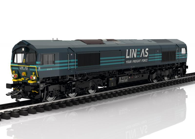 Märklin 39062 Diesellok LINEAS Group Class 66 Belgiskt Nyhet 2020 Förboka ditt exemplar