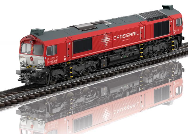 """Märklin 39065 Diesellok Class 77 Type JT42CWRM """" Crossrail """" mfx dcc ljud Nyhet 2021 Förboka ditt exemplar"""