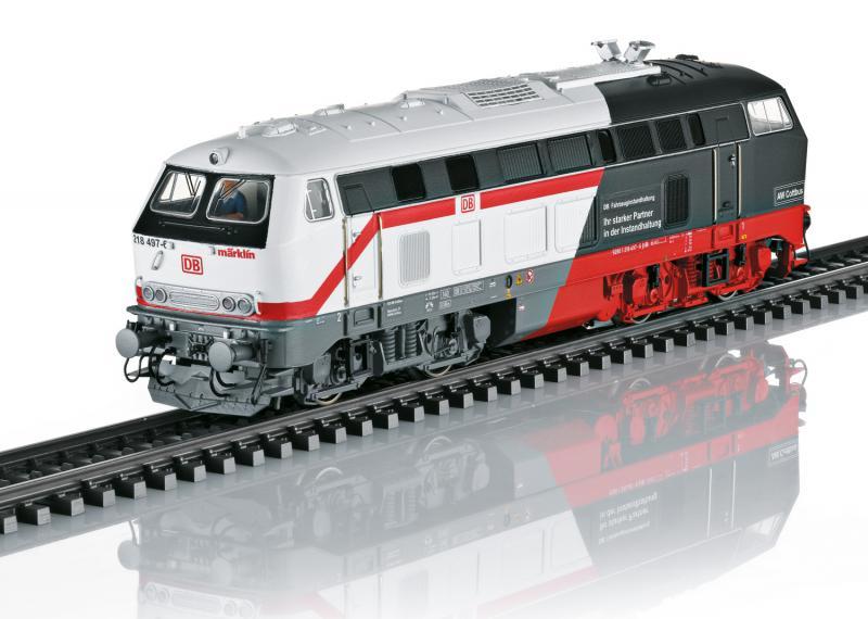 "Märklin 39187 Diesellok Class 218 "" The Flagship of the FZI Cottbus "" Sommarnyhet 2021"