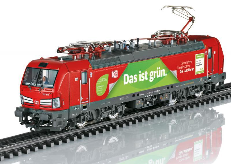 Märklin 39197 Ellok ( DB AG ) class 193 ( Vectron ) mfx DCC Ljud Sommarnyhet 2021 Förboka ditt exemplar