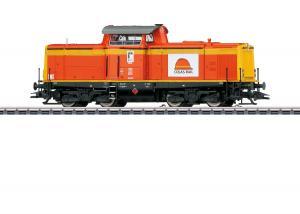 "Märklin 39214 Diesellok BR 212 Colas Rail. ""Traffic Orange"""