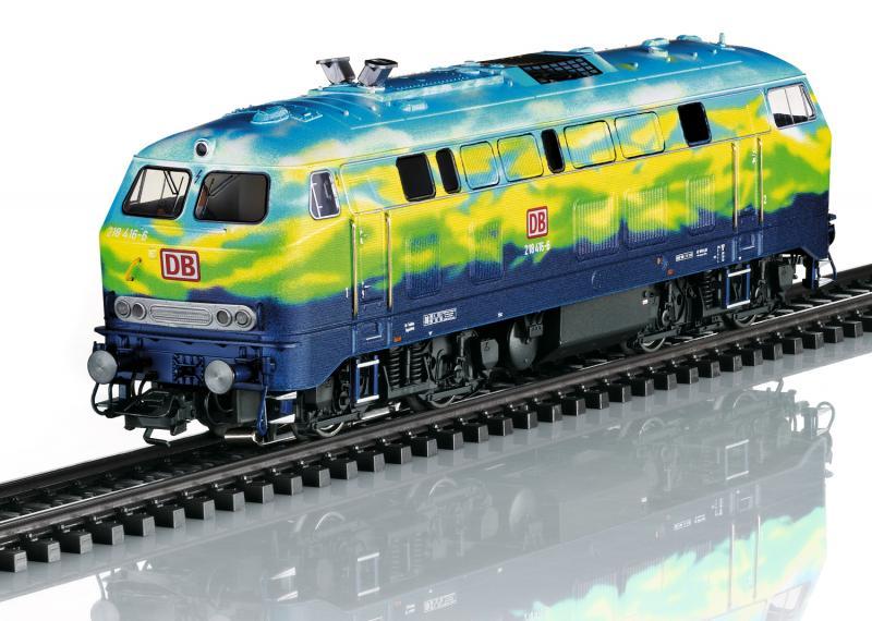 Märklin 39218 Diesellok Class 218 DB