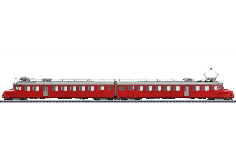 """Märklin 39260 ( SBB ) Eldriven motorvagn class RAe 4/8 """" Churchill Arrow """" Nyhet 2021 Förboka ditt exemplar"""