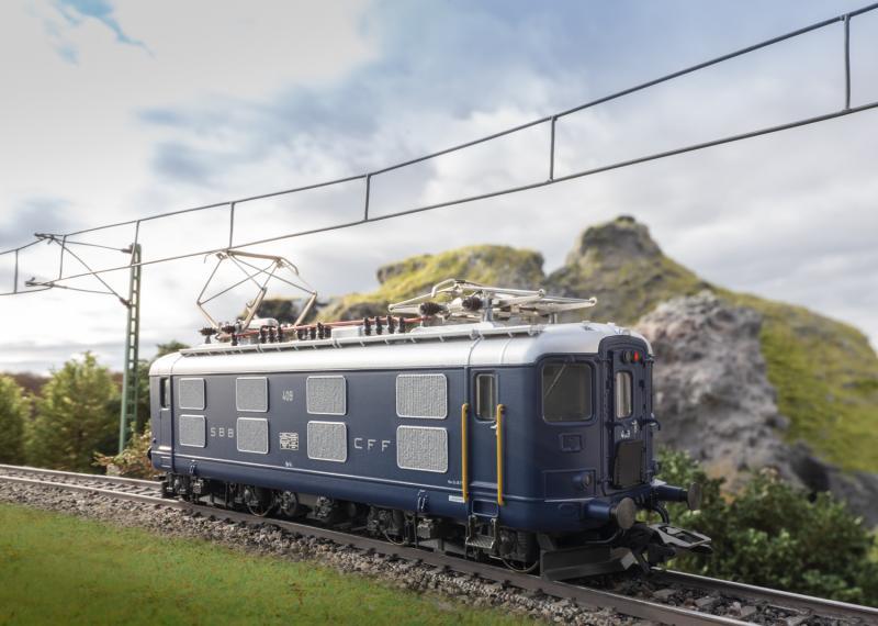 Märklin 39422 Ellok (SBB) class Re 4/4 Nyhet 2020 Förboka ditt exemplar