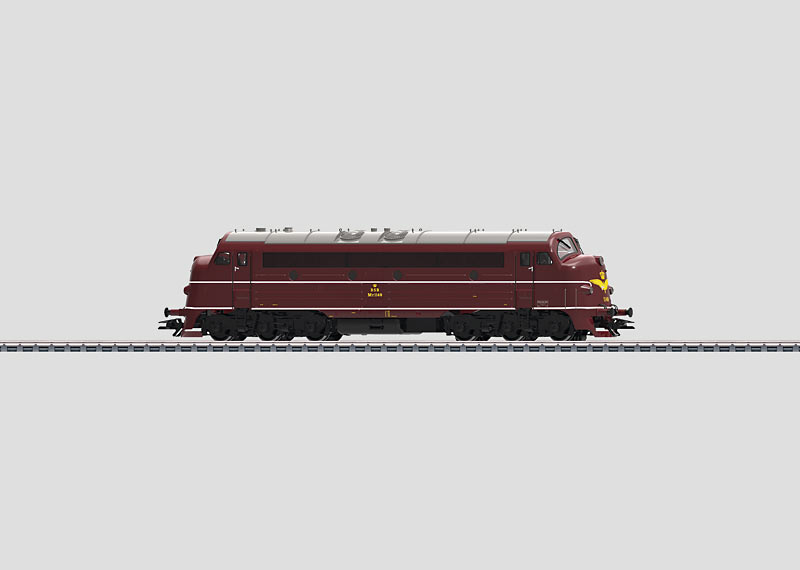 39670 Diesellok klass MY 1100 typ DSB Nyhet 2014