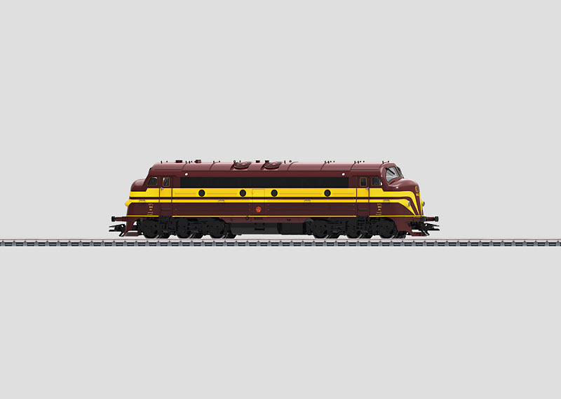"39673 Diesellok klass 1600 ""NOHAB"" typ CFL"