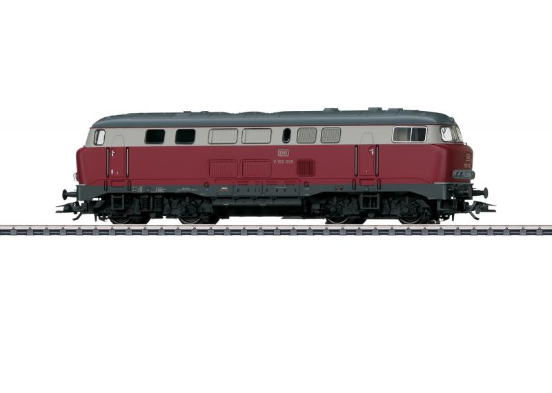 """Märklin 39741 Diesellok (DB) class V 160 """"Lollo"""" Nyhet 2020"""