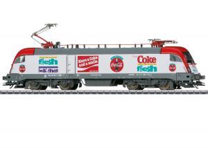 Märklin 39829 Ellok ( DB AG ) class 182 Coca-Cola® Sommarnyhet 2021 Förboka ditt exemplar