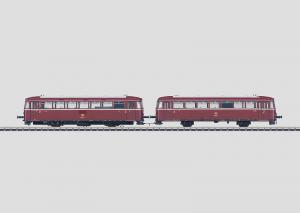 39980 BR 798 + 998 Rälsbuss med manövervagn DB mfx ljud