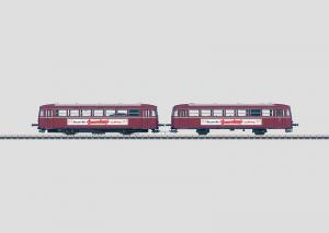 39982 Rälsbuss med manövervagn BR VT 27 och manövervagn VS 21