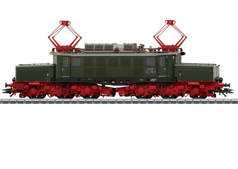 Märklin 39991 Ellok ( DR / GDR ) class 254 Krokodil MFX DCC Ljud Nyhet 2021 Förboka ditt exemplar