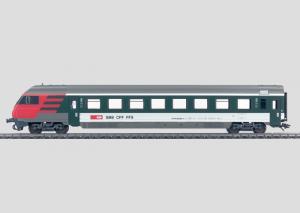 42178 Snälltågsvagn Slutvagn manöver SBB
