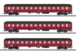 Märklin 42694 Danskt vagnset (DSB) type Bcm passenger cars, 2nd class Nyhet 2020