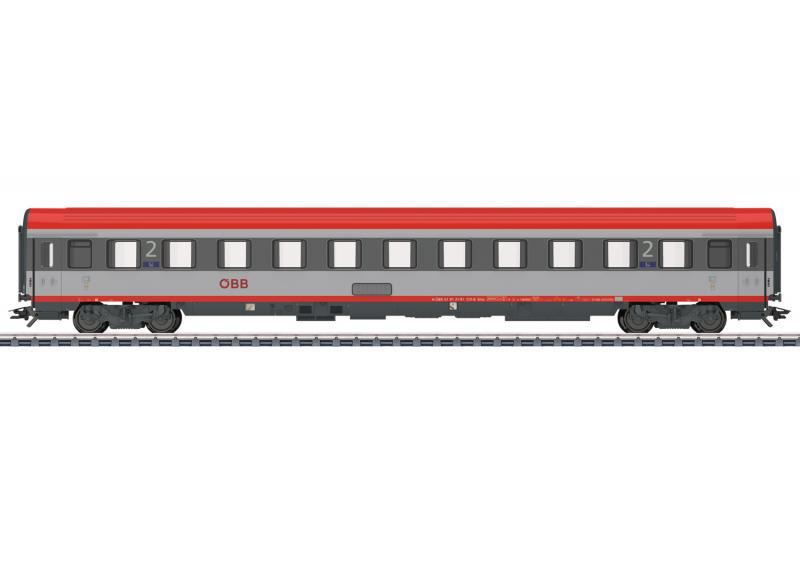 Märklin 42743 Personvagn ( ÖBB ) type Bmz 2nd class Nyhet 2021 Förboka ditt exemplar