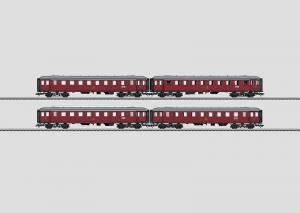 42768 Vagnsset med 4st personvagnar typ DSB litra CL Nyhet 2014