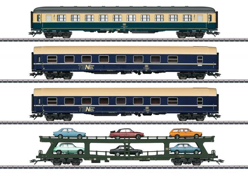 """Märklin 42999 Vagnset """"Auto Train"""" DB"""