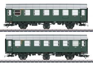 Märklin 43185 Vagnset med 2 personvagnar (DB) Nyhet 2020