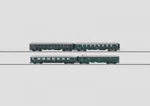 43228 Personvagn-Set BBÖ